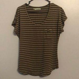 Maurices Tops - Green striped top
